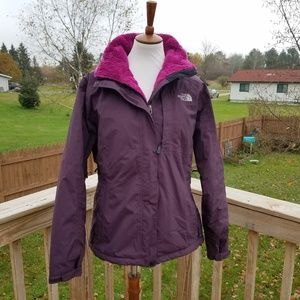 The North Face Purple Winter Jacket